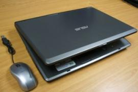 Beautiful notebook Asus X51R (battery 1.5 hours)
