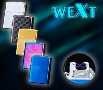 Электроимпульсная зажигалка WEXT (9 цветов)