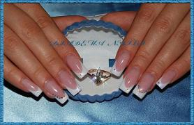 EXTENSION OF NAILS Kiev Acryl Gel LATE REMOVAL