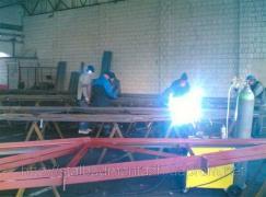 Изготовление металлоконструкций разной сложности