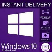 Licensed Key Windows 10 PRO 32/64 bit Digital License