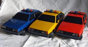 Машинка Лада Самара 1500, моделька ВАЗ-2109, в хорошем состоянии