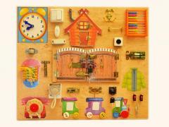 Монтессори материалы, деревянные игрушки, бизиборды