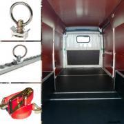 Облицювання, ізоляція вантажного салону мікроавтобуса (всі марки)