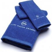 Полотенца с вышивкой на заказ рисунок логотип на полотенце