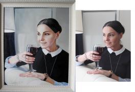 """""""Поразительной красоты портрет маслом!"""""""