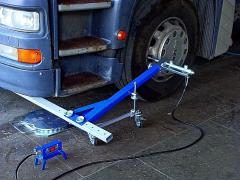 Схождение для грузовых авто