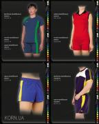 Volleyball form, women, men, tailoring, custom