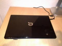 Well-groomed, business laptop HP Compaq CQ61