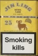 Wholesale cigarettes Jin-Ling 25 (480 packs) - 380.00$