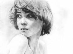 Write with pencil portraits to order